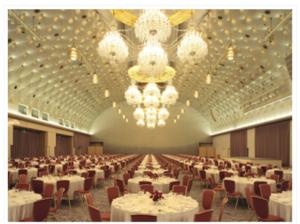グランドプリンスホテル新高輪ホール飛天画像