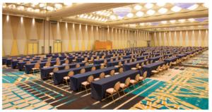 2020年自民党総裁選が行われたグランドプリンスホテル新高輪の崑崙画像
